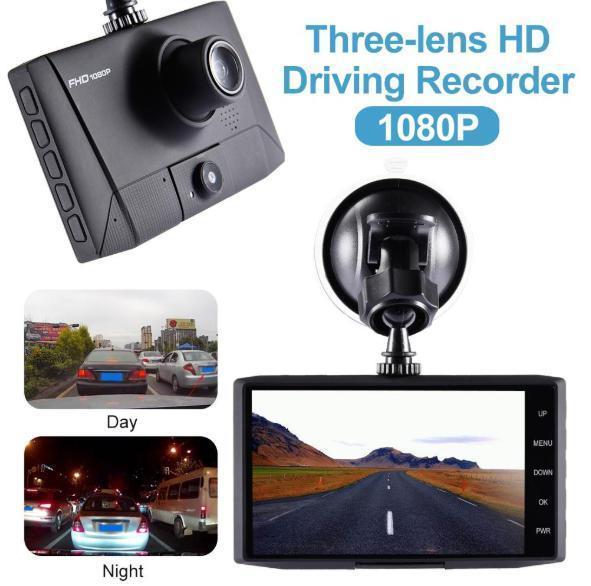 ドライブレコーダー 前後2カメラ 車載カメラ Gセンサー 1080P フルHD 駐車監視 モーション検知 ナイトビジョン ブラック_画像6