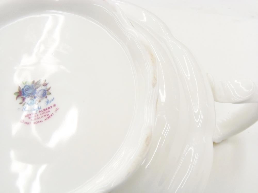 ○ ロイヤルアルバート ムーンライトローズ ティーポット イギリス 未使用品 長期保管_画像5