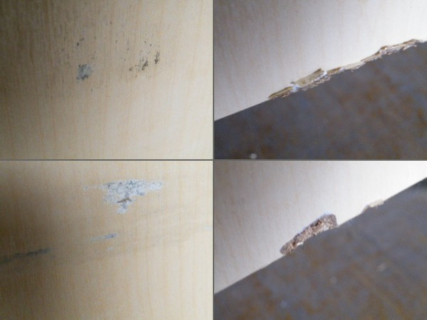 H150cm 木製 両面3段ラック/陳列棚■L-518_画像3
