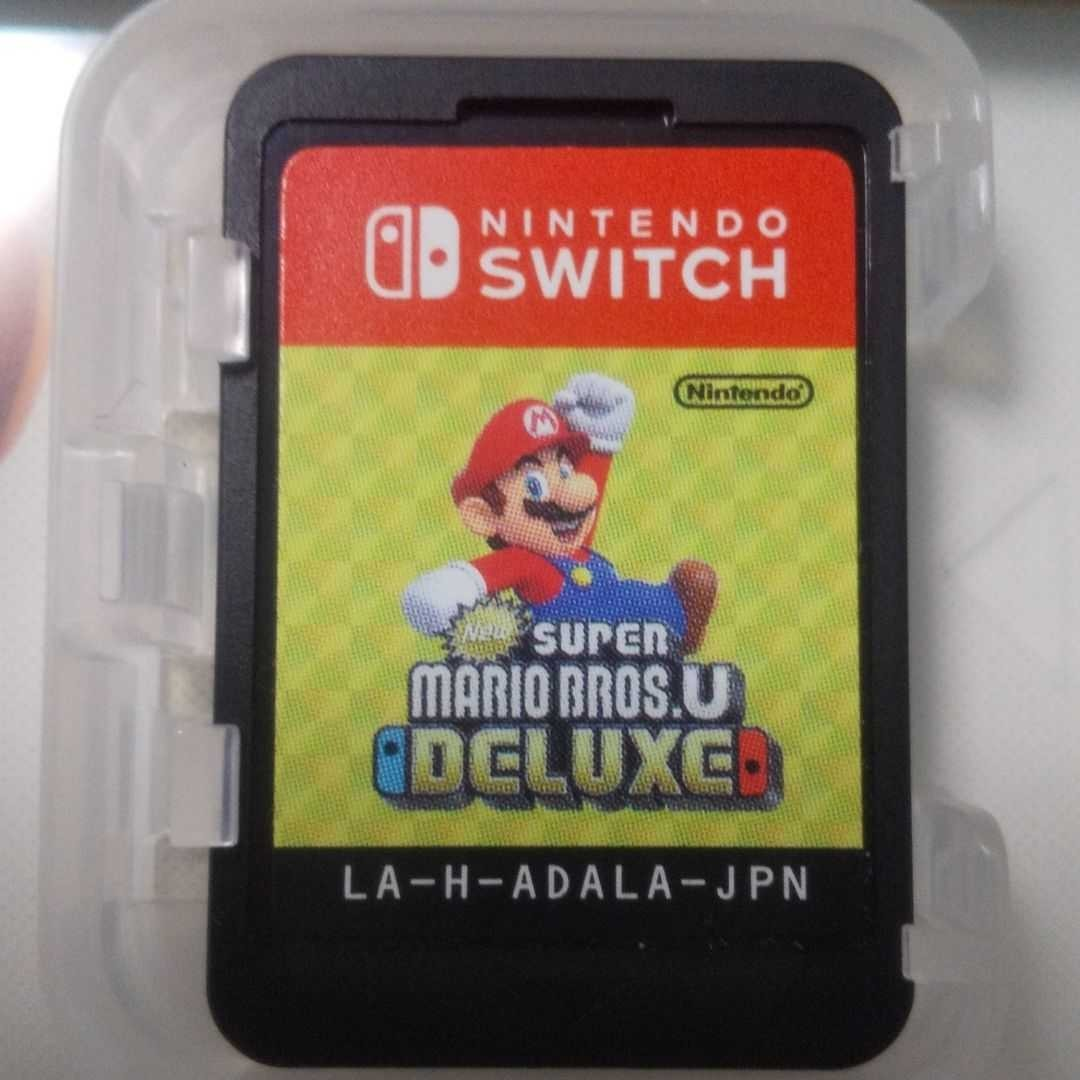NewスーパーマリオブラザーズU Switchソフト