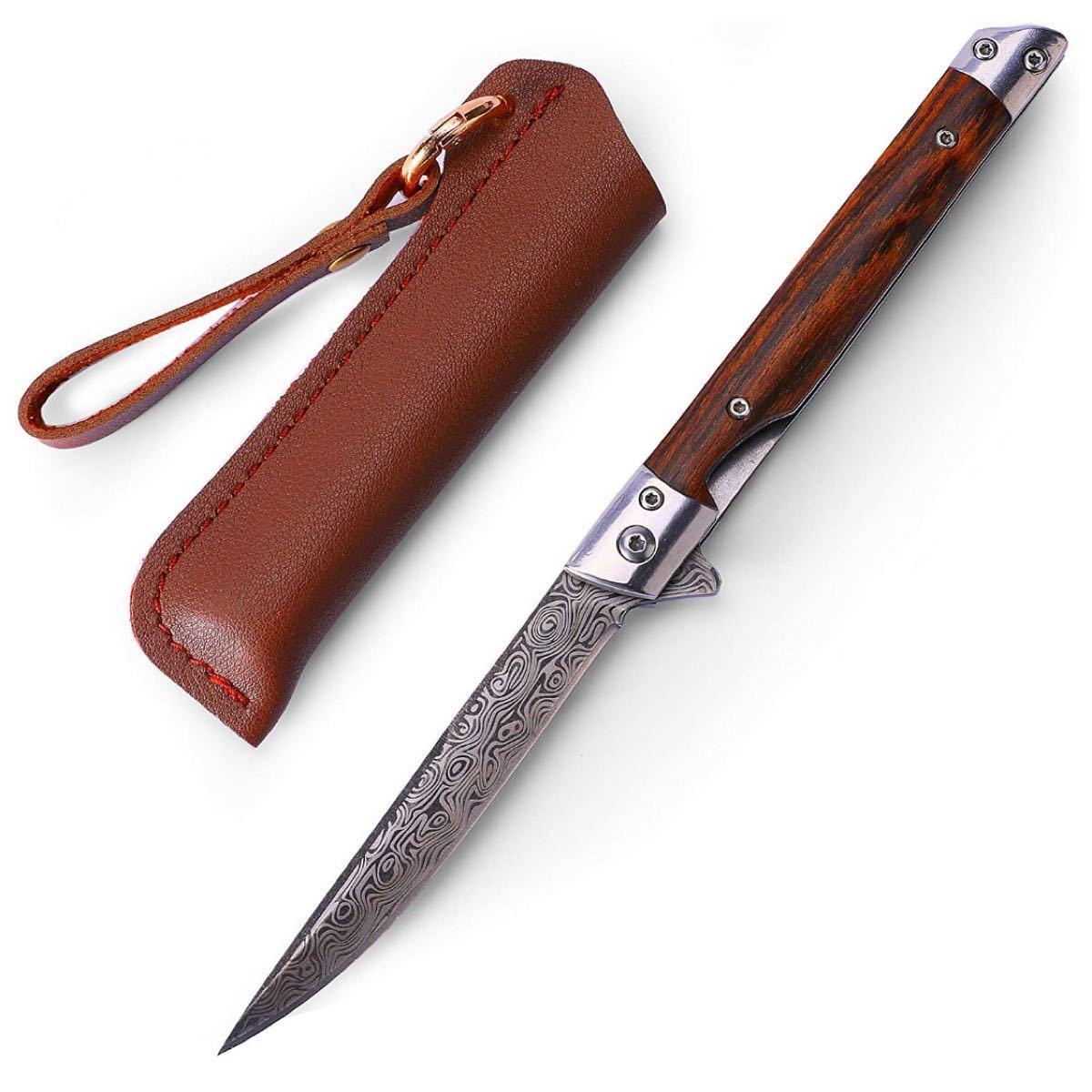 ナイフ アウトドア フォールディングナイフ 折りたたみ キャンプナイフキャンプ用
