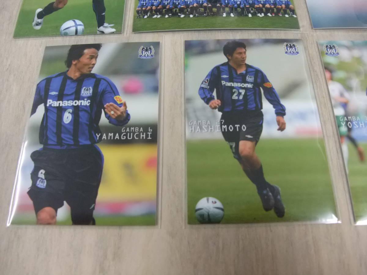 カルビー Jリーグ 2005 ガンバ大阪 6枚セット 非売品 交換 限定 ラッキーカード サッカーカード_画像4