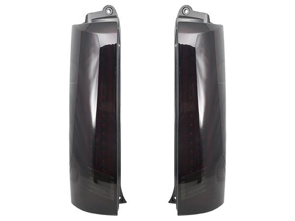 【TRISTAR'S】エブリイワゴン DA64W シーケンシャルウインカー ファイバーLEDテールランプ インナーレッドスモークレンズ 流れるウインカー_画像2