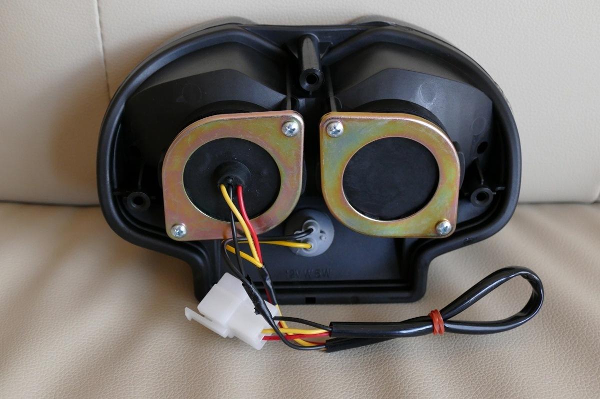 新品 LEDテールランプ スモークテール Bandit1200S バンディット1200S GV77A 台湾製_画像7