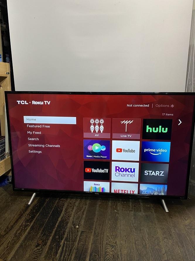TCL 55S405 55インチ 55型 液晶 テレビ TV スマートテレビ 難有 動作OK USED 中古_画像2