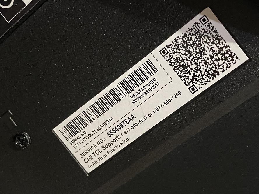 TCL 55S405 55インチ 55型 液晶 テレビ TV スマートテレビ 難有 動作OK USED 中古_画像8