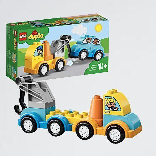 好評 新品 デュプロ レゴ(LEGO) J-1J 男の子 車 はじめてのデュプロ レッカ-車 10883 知育玩具 ブロック おもちゃ_画像1