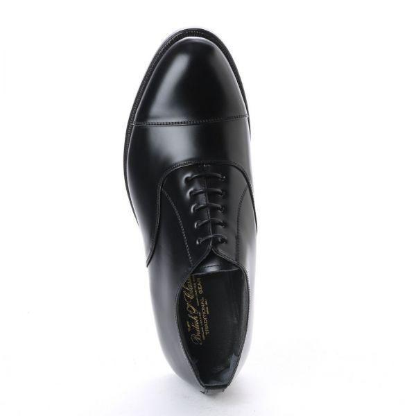 【宮城興業】【リーガル 外注工場】【レザーソール】紳士靴 革靴 メンズ ビジネスシューズ ストレートチップ 6202 ブラック 黒 25.0cm