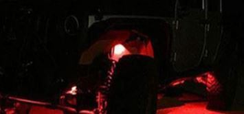 [送料無料] 最新 レッド8個セット LEDロックライト スポット アンダー ライト_画像9