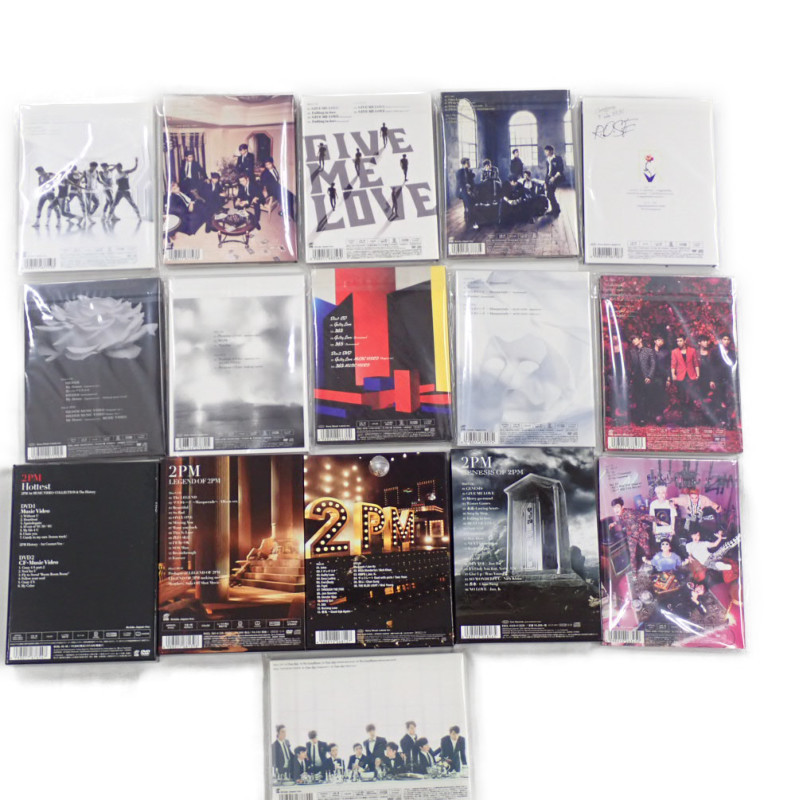 ★2PM CD + DVD 16点セット/LEGEND OF 2PM/2PM OF 2PM/Hottest/GENESIS OF 2PM/Take off/I'm your man/ミダレテミナ 等/韓国#1606200001_画像2