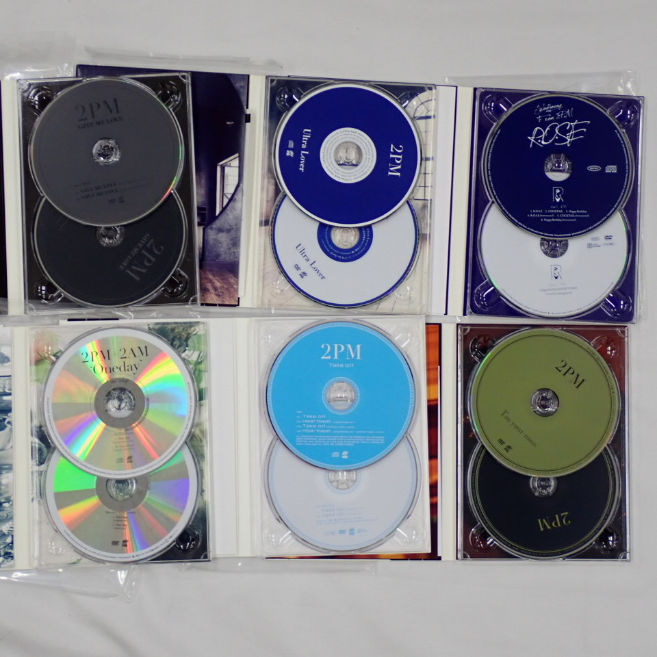 ★2PM CD + DVD 16点セット/LEGEND OF 2PM/2PM OF 2PM/Hottest/GENESIS OF 2PM/Take off/I'm your man/ミダレテミナ 等/韓国#1606200001_画像5