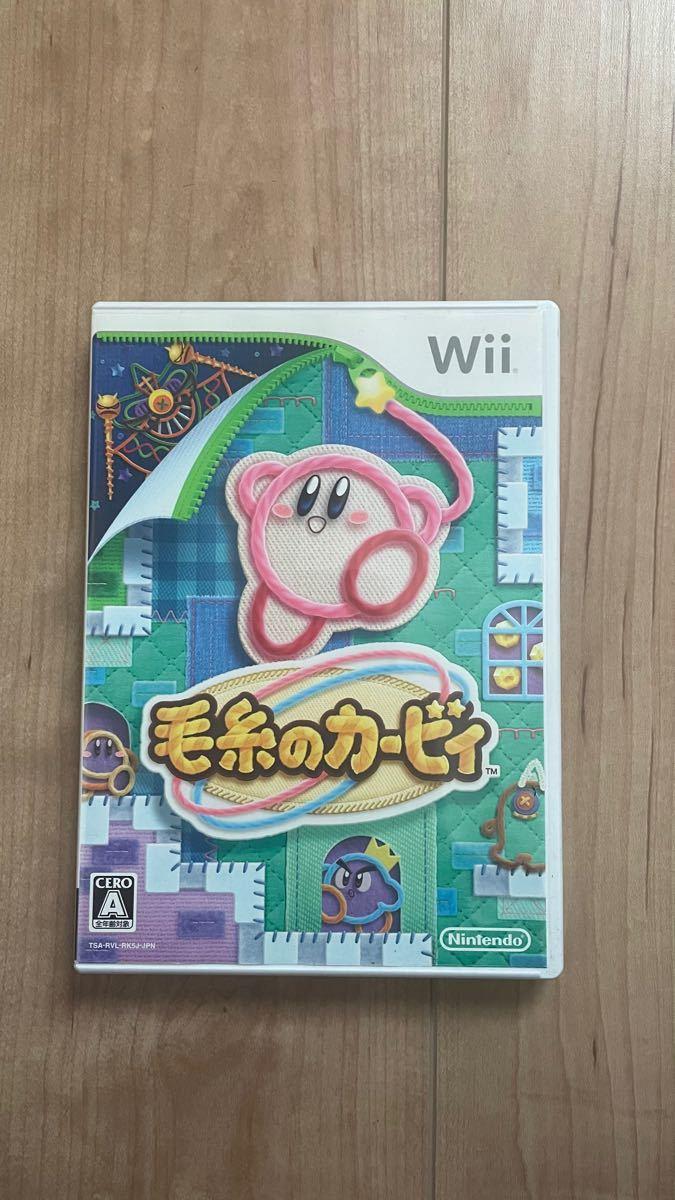 毛糸のカービィ Nintendo 任天堂 Wii Wiiソフト