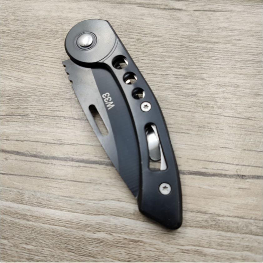 折り畳みナイフ、小型ナイフ、ポケットナイフ、サバイバルナイフ、クリップつき