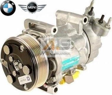 【M's】BMW ミニ R55 R56 R57 R58 R59 R60 R61 (2006y-2013y) 優良社外品 エアコンコンプレッサー 64529223392 64522758145 64526942501_画像1