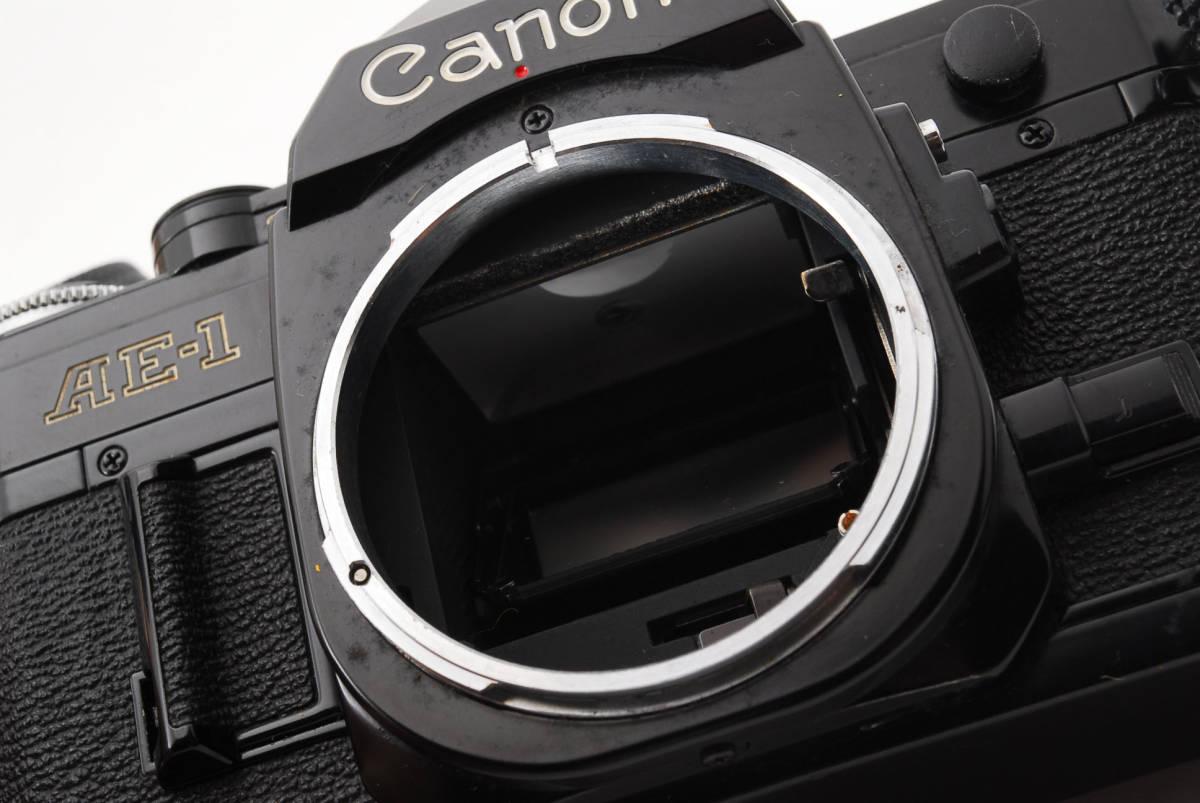 送料無料・箱付き・動作良好★canonフィルムカメラ★Canon キヤノン AE-1 ボディ 現状品_画像4