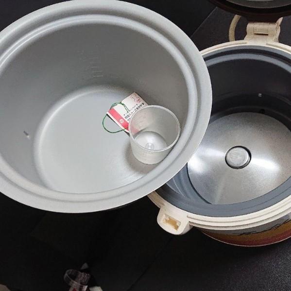 【美品】昭和レトロ家電 日立 炊飯ジャー 炊飯器 ジャー式電気がま
