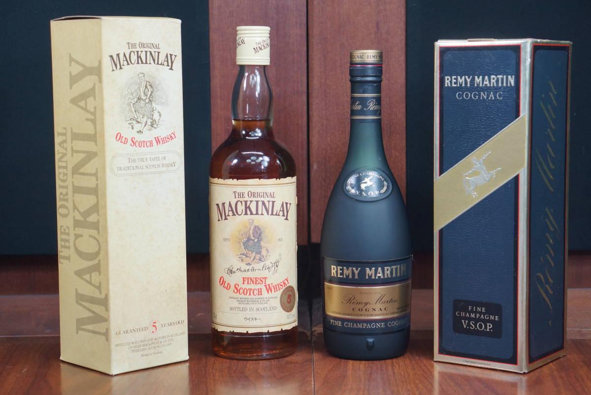 古酒◇レミーマルタン V.S.O.P 43°/500ml COGNAC & マッキンレイ 43°/750ml OLD SCOTCH 5 YEARS 未開栓_画像1
