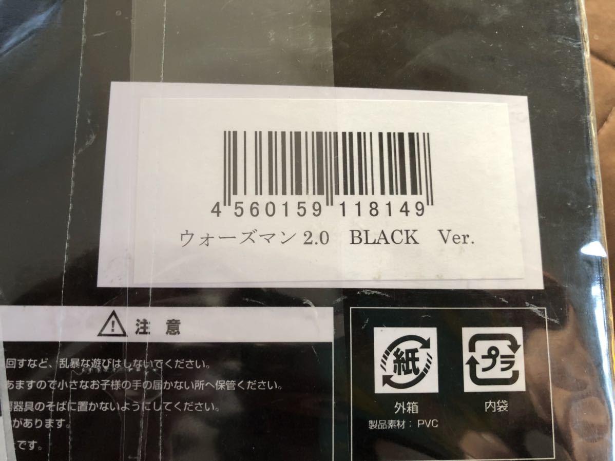 同梱可能 美品 キン肉マン CCP Muscular Collection ウォーズマン2.0 BLACK Ver. 箱付き_画像3