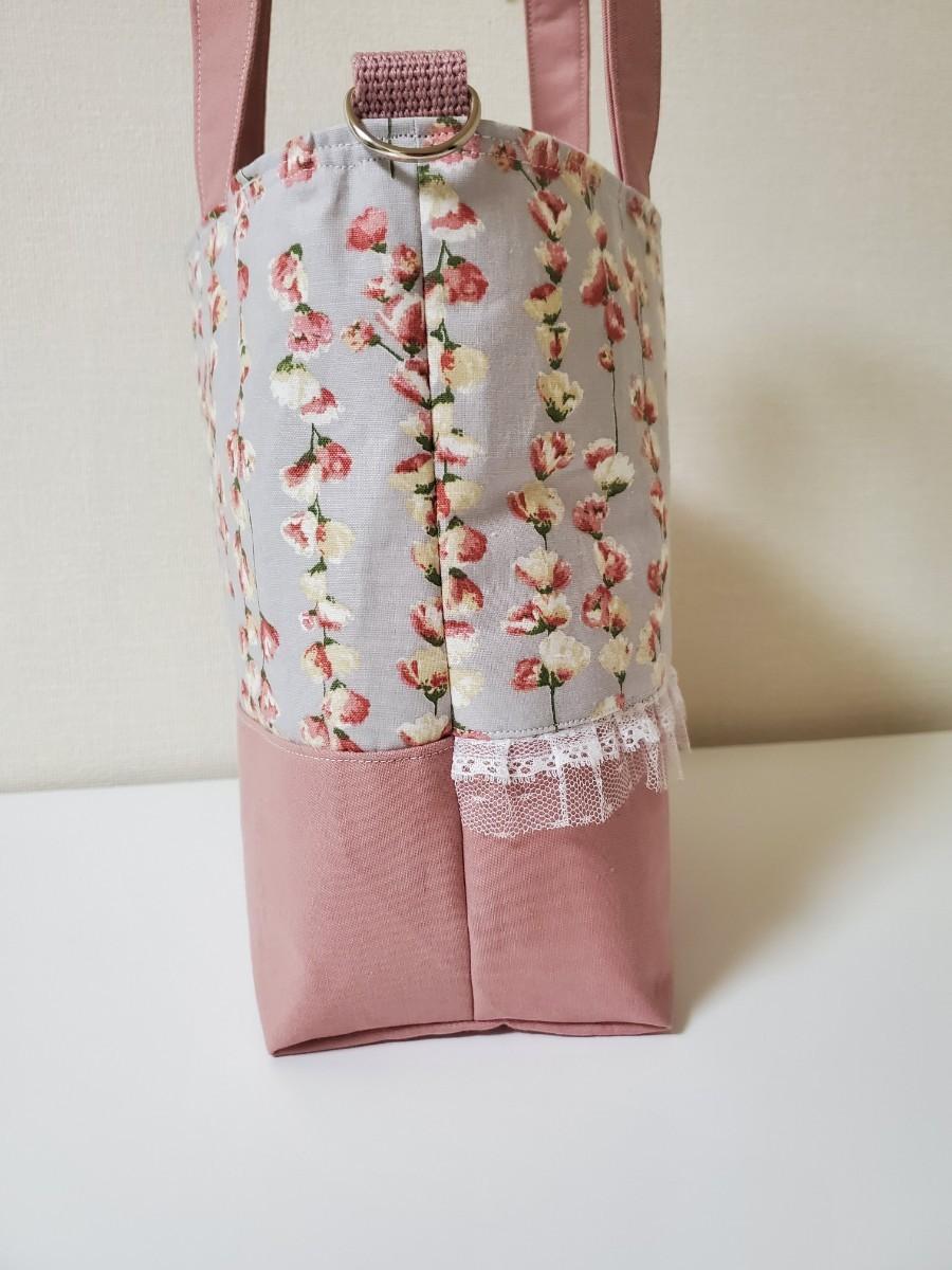 ハンドバッグ ショルダーバッグ エコバッグ 花柄 ハンドメイド