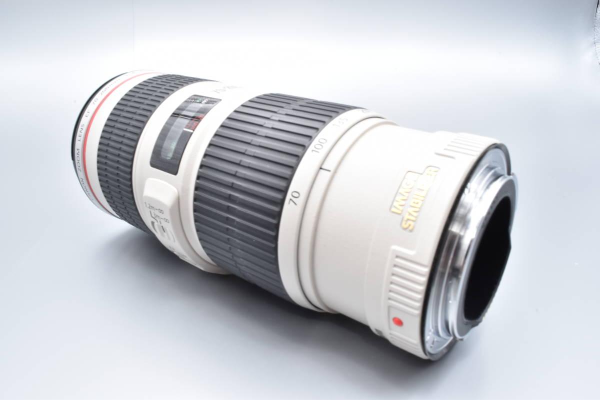 【美品】Canon キャノン EF70-200mm 4L IS USM 2012-3_画像3