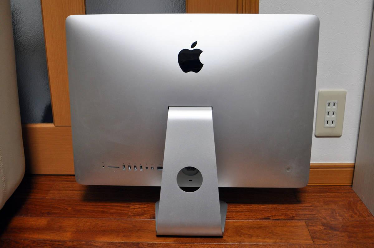Apple iMac Retina 4K 21.5-inch Late 2015 Magic Trackpad 2 付属 カスタマイズモデル Core i5 3.1GHz 4コア/8GB/HDD 1TB 動作品_画像2