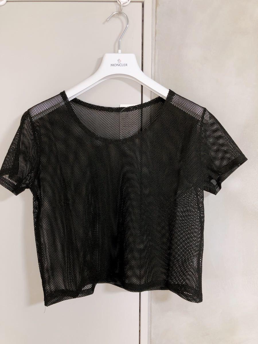 ヨガウェア ピラティスウェア 半袖 Tシャツ トレーニングウェア メッシュウェア