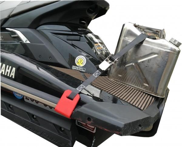 「ジェット用 ステンレスラチェットラックベルト 荷物の固定に シードゥー」の画像1