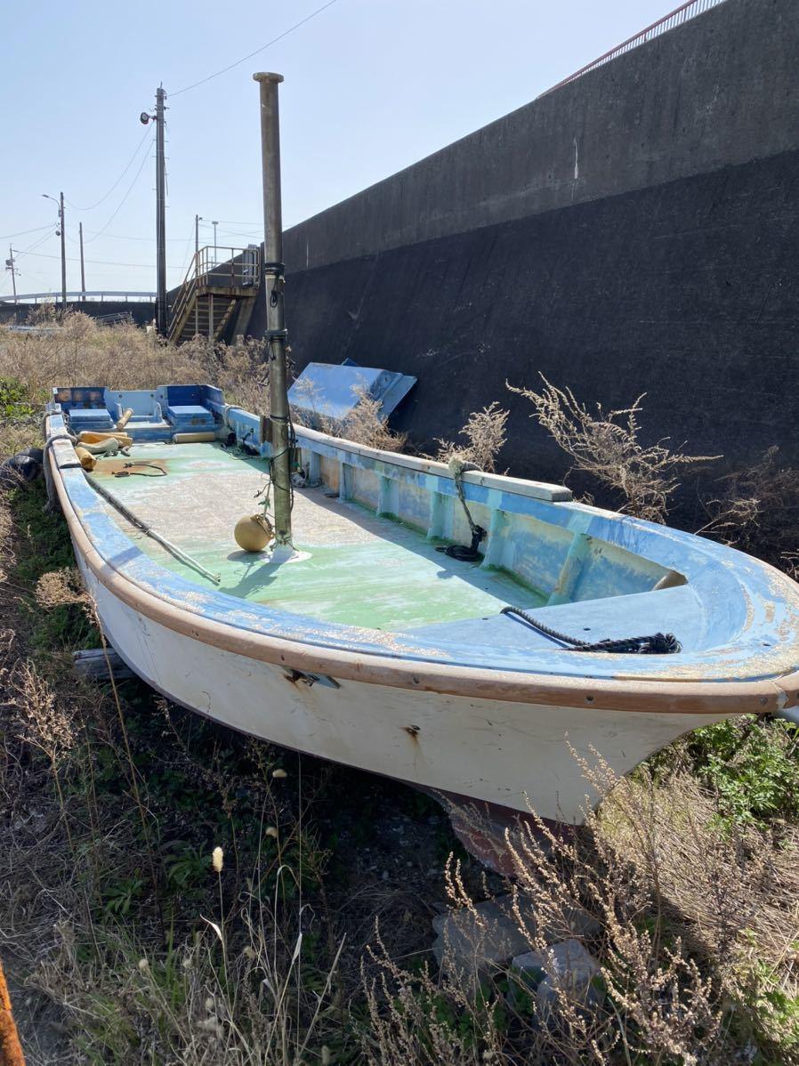 引き取り限定 漁船 釣り船_画像1
