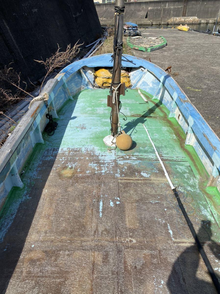 引き取り限定 漁船 釣り船_画像4