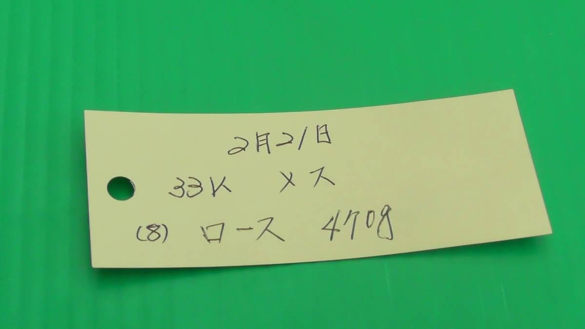 福岡産天然猪肉 ロース (8) 470g_画像10
