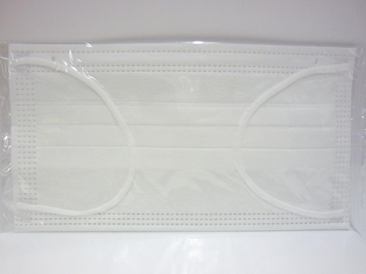 ■送料無料 日本製 個包装 使い捨てマスク 3層構造 快適フィットマスク 幅広平ゴム 50枚入り 17.5×9.5cm_画像6