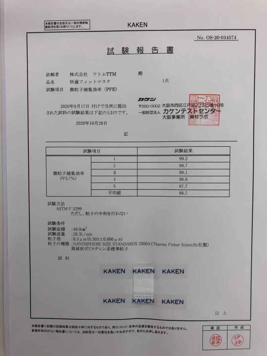 ■送料無料 日本製 個包装 使い捨てマスク 3層構造 快適フィットマスク 幅広平ゴム 50枚入り 17.5×9.5cm_画像7