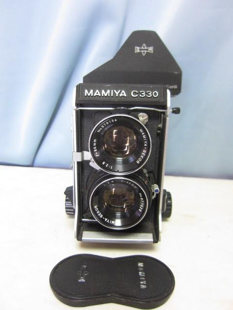 マミヤ Mamiya C330 + Mamiya-Sekor 80mm F/2.8 中古 ジャンク扱い(TB2)_マミヤ Mamiya C330 + Mamiya- 80mm