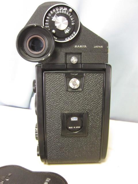 マミヤ Mamiya C330 + Mamiya-Sekor 80mm F/2.8 中古 ジャンク扱い(TB2)_外装に傷、使用感がございます