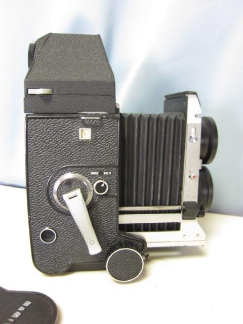 マミヤ Mamiya C330 + Mamiya-Sekor 80mm F/2.8 中古 ジャンク扱い(TB2)_巻き上出来ません現状シャッター切れません