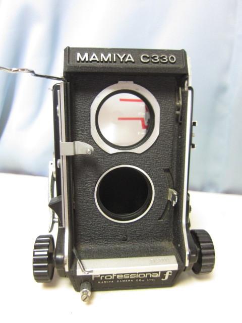 マミヤ Mamiya C330 + Mamiya-Sekor 80mm F/2.8 中古 ジャンク扱い(TB2)_動作未確認です、