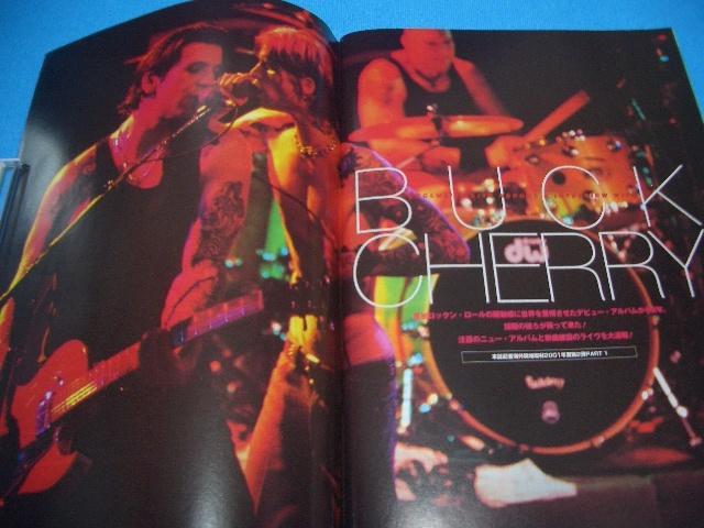 ★BURRN!★送料無料【2001年2月】BUCKCHERRY / MOTLEY CRUE / FEAR FACTORY / DARKANE / NILE / WINGER / BON JOVI / SYMPHONY X / DOKKEN_画像4