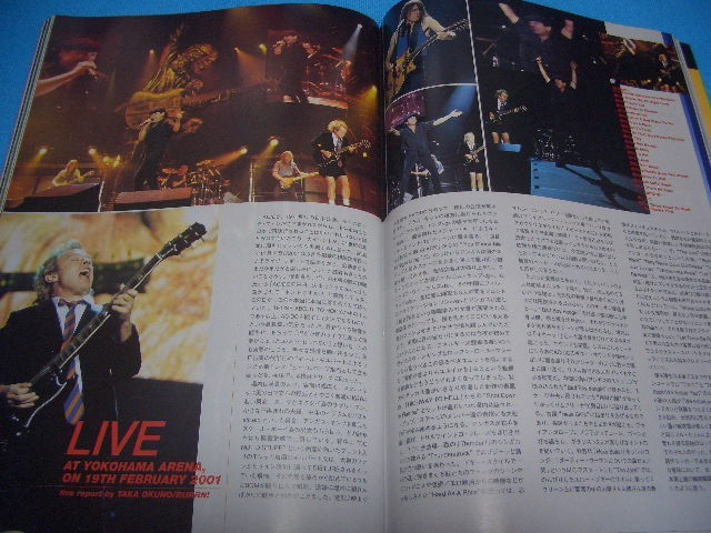 ★BURRN!★送料無料【2001年5月】MEGADETH / ARCH ENEMY / STEVE VAI / PARADISE LOST / W.A.S.P. / UNITED / LIZZY BORDEN / GARY MOORE_画像4