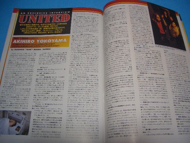 ★BURRN!★送料無料【2001年5月】MEGADETH / ARCH ENEMY / STEVE VAI / PARADISE LOST / W.A.S.P. / UNITED / LIZZY BORDEN / GARY MOORE_画像6