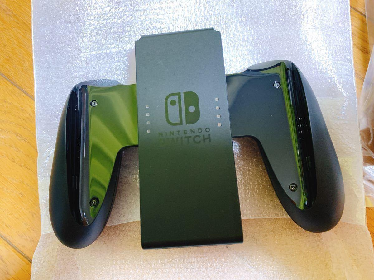 【1ヶ月使用】 Nintendo Switch ニンテンドー スイッチ 任天堂 Switch Joy-Con L / R ネオンブルー ネオンレッド ジョイコン グリップ _画像4
