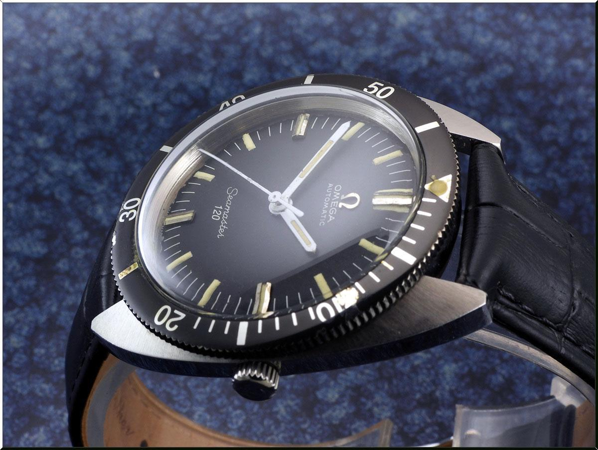 Omega Seamaster 120 Cal.550 year 1966 diver´s 166.027 メンズ 自動巻き ( OH済み ) / 37mm_画像3