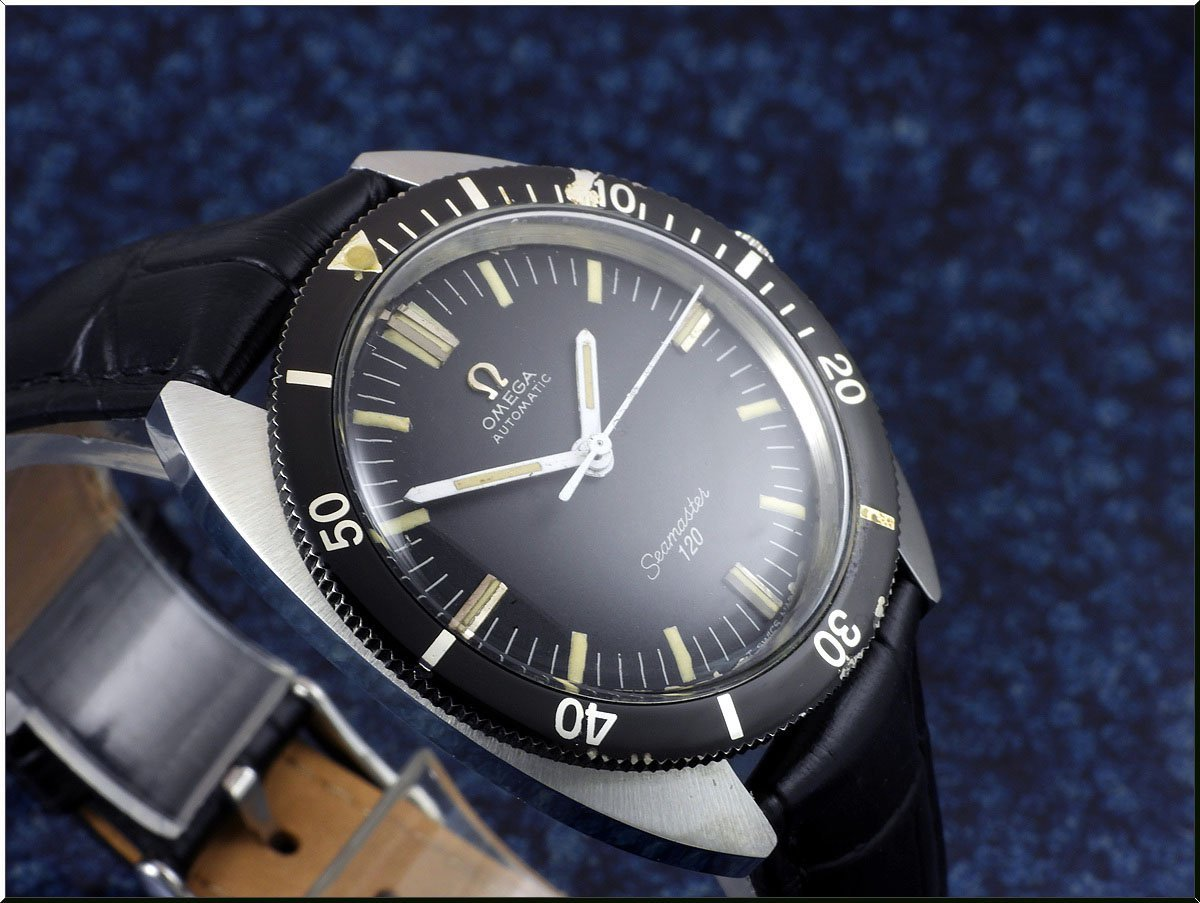 Omega Seamaster 120 Cal.550 year 1966 diver´s 166.027 メンズ 自動巻き ( OH済み ) / 37mm_画像4