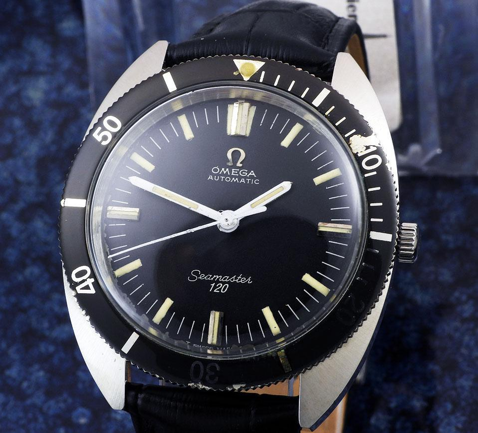 Omega Seamaster 120 Cal.550 year 1966 diver´s 166.027 メンズ 自動巻き ( OH済み ) / 37mm_画像1