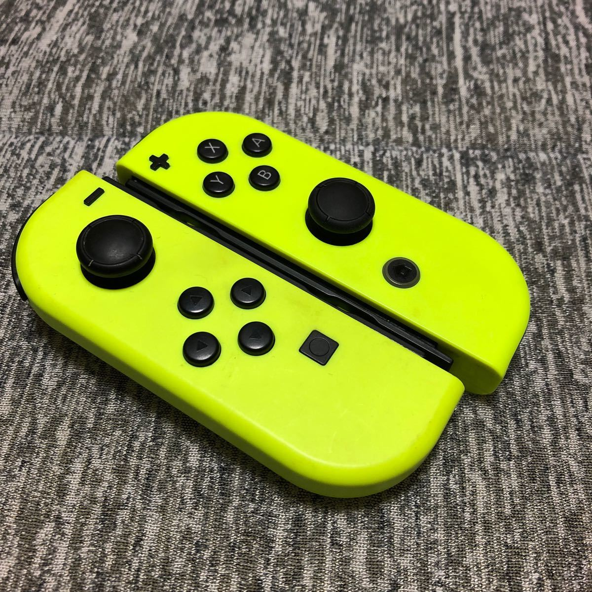 Nintendo Switch Joy-Con ジョイコン ネオンイエロー