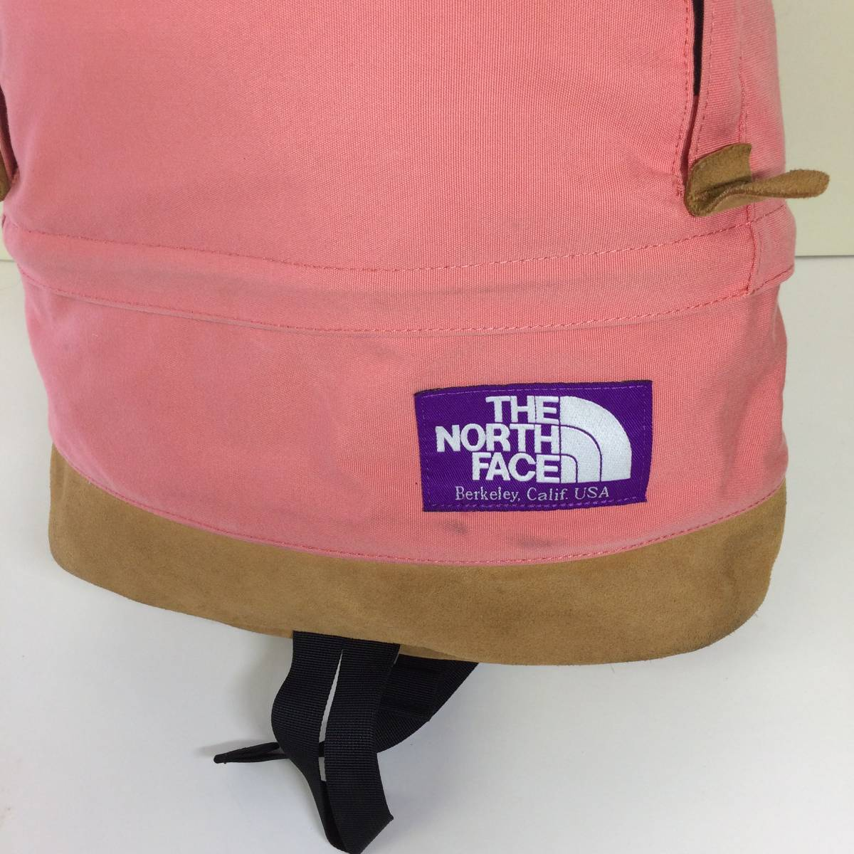 The North Face ノースフェイス パープルレーベル ボトムレザー デイパック リュック ナナミカ