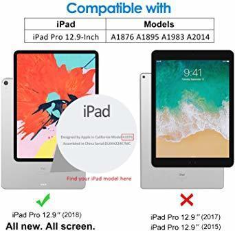 JEDirect iPad Pro 12.9 (2018新モデル 第3世代のみ対応) 用液晶保護ガラスフィルム_画像2