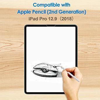 JEDirect iPad Pro 12.9 (2018新モデル 第3世代のみ対応) 用液晶保護ガラスフィルム_画像3