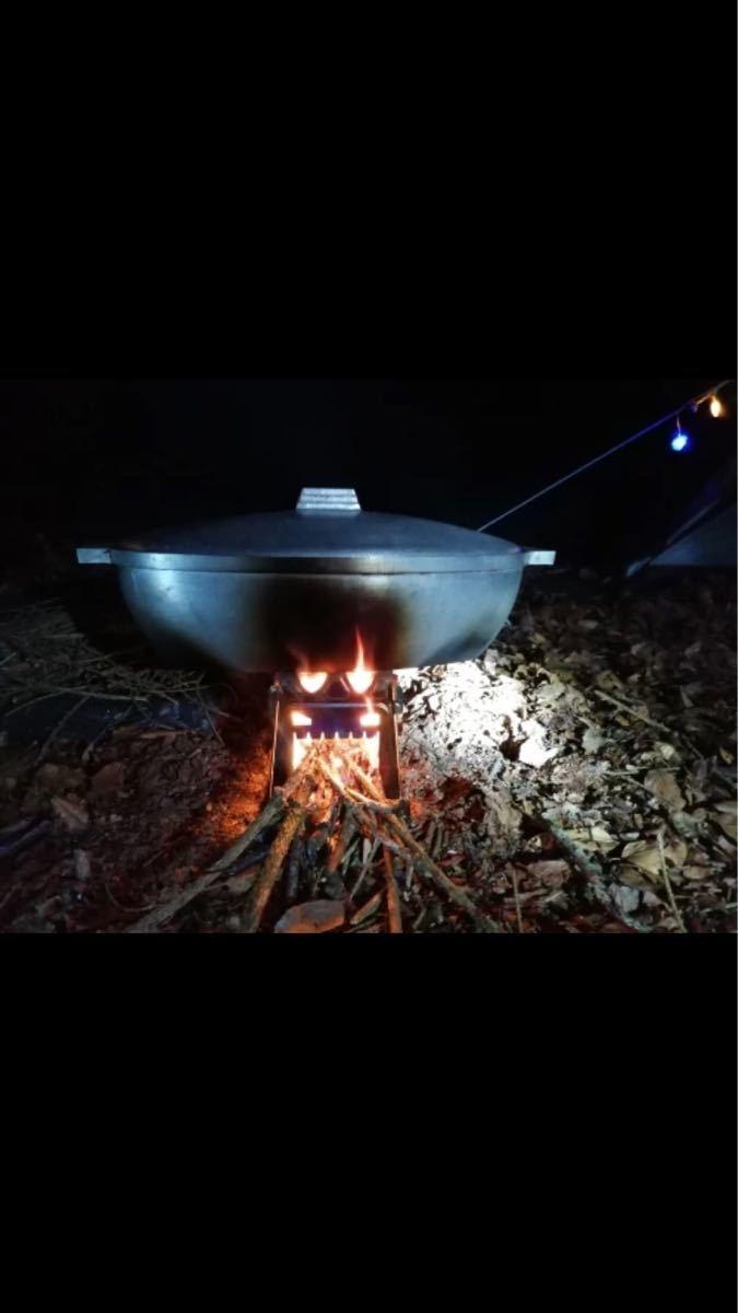 キャンプストーブ ストーブ ポータブル 薪ストーブ 焚き火台 ウッドストーブ