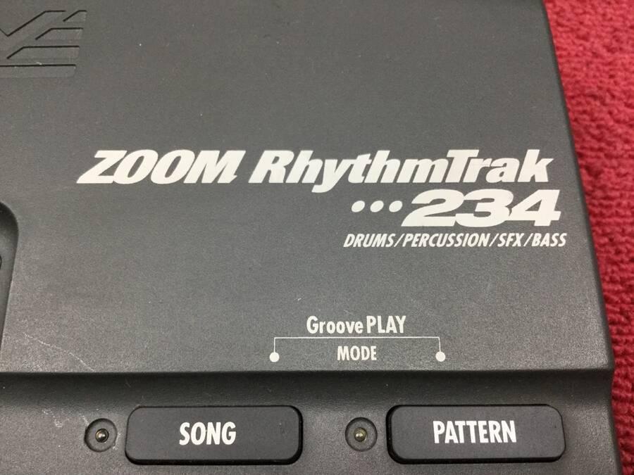 ZOOM 234 リズムマシン 全てのパッドの出力音を確認済み★現状品_画像3