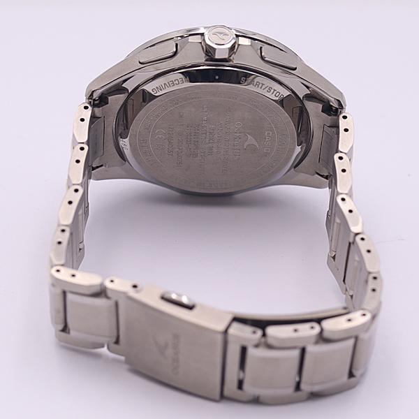 1円●美品●稼働品【CASIO オシアナス】保/箱付き マルチバンド6 Bluetooth搭載 OCW-G2000 メンズ腕時計 A0075268_画像4